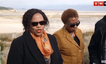 Mokonyane visits Theewaterskloof Dam