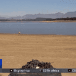 Water in Cape's Theewaterskloof Dam dries up