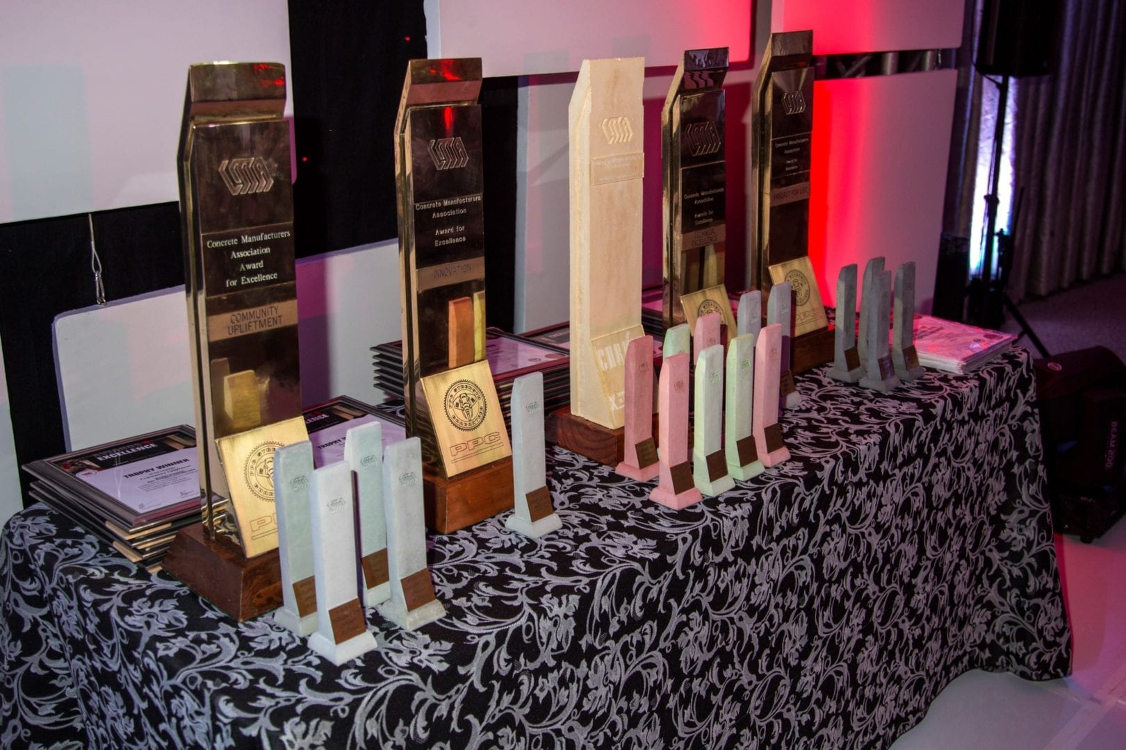 More than 20 awards will be handed out at this year's Concrete Manufacturers Association's (CMA) biannual Awards for Excellence.