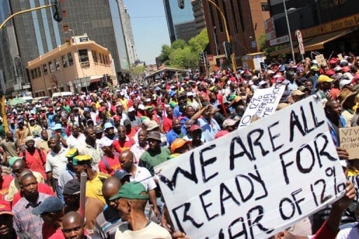 Image result for South African taxis revolt against Transport Minister Joe Maswanganyi t