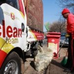 Sweeping gesture from new broom keeps Sandton clean