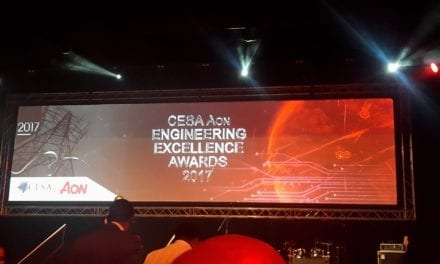 Excellence in engineering rewarded at #CESAAonAwards 2017
