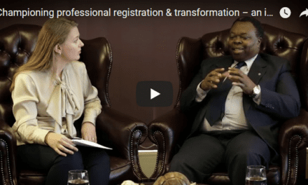 Championing professional registration & transformation – an interview with the ECSA CEO