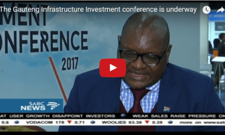 Makhura addresses the Gauteng Infrastructure Investment Conference