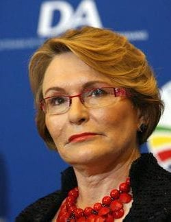 Zille will ask DWS to pay back the money