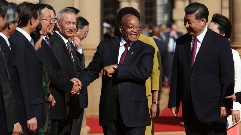 China to score SA infrastructure projects worth R70 bn?