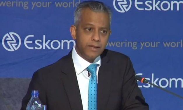 Suspended Eskom CFO throws in the towel