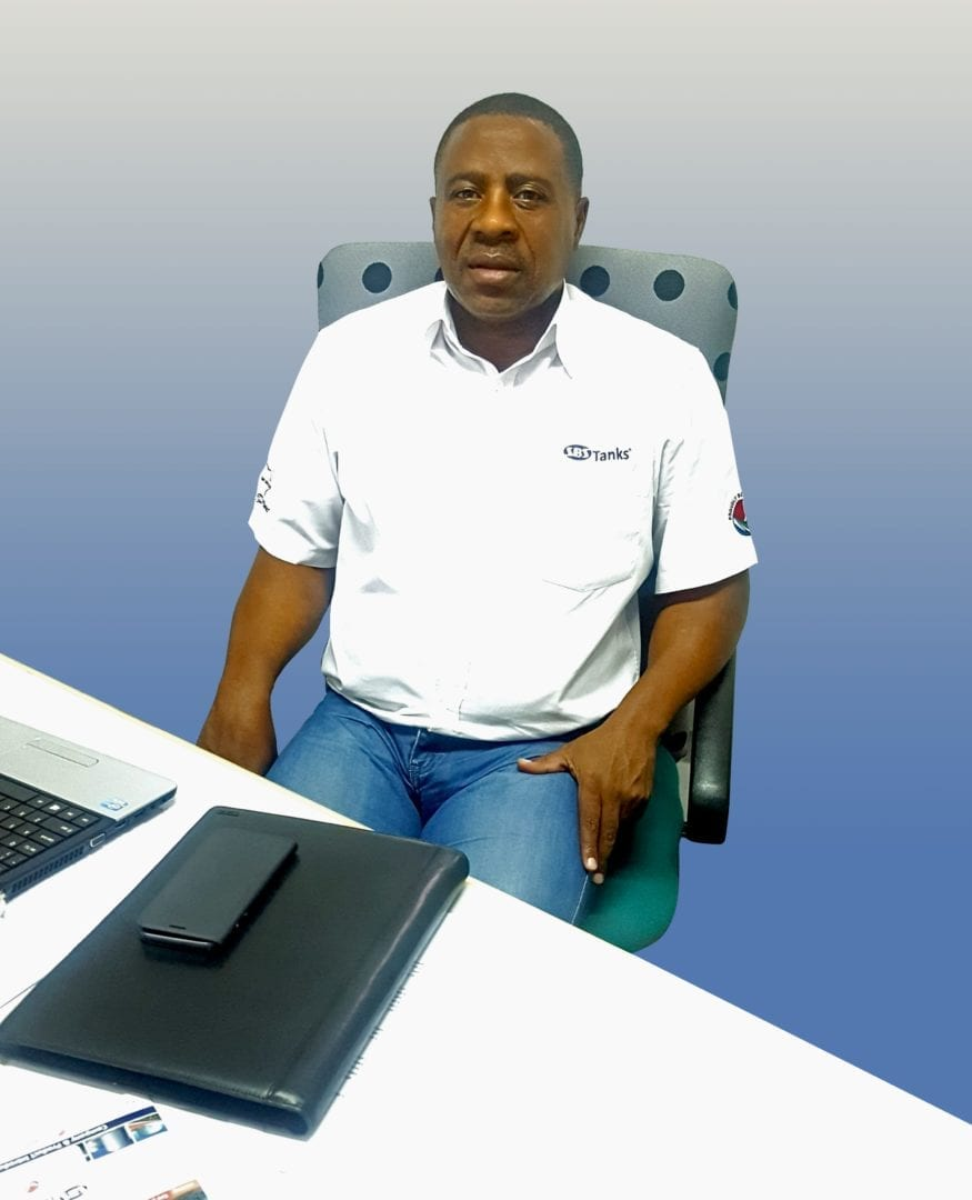 Mava Gwagwa, New business and key accounts director, SBS Tanks