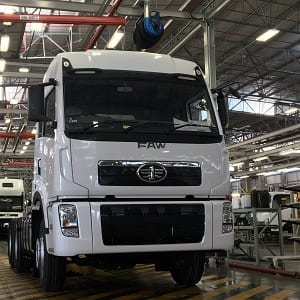 FAW produces 3000th local truck