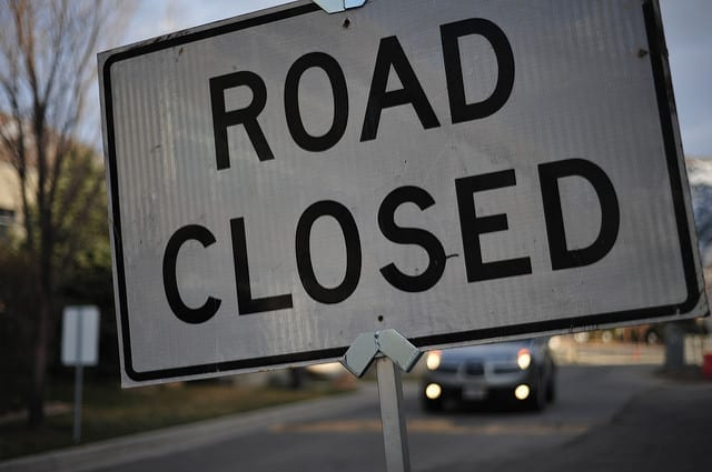 Kenville road closed for upgrades