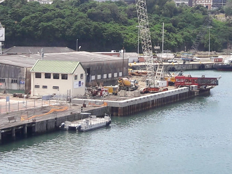 Sheet pile wharf 4