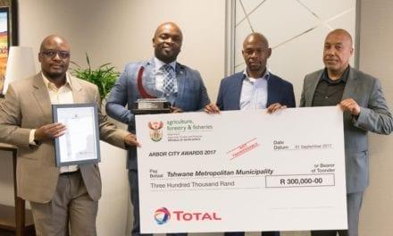 Tshwane scoops Arbor City Award