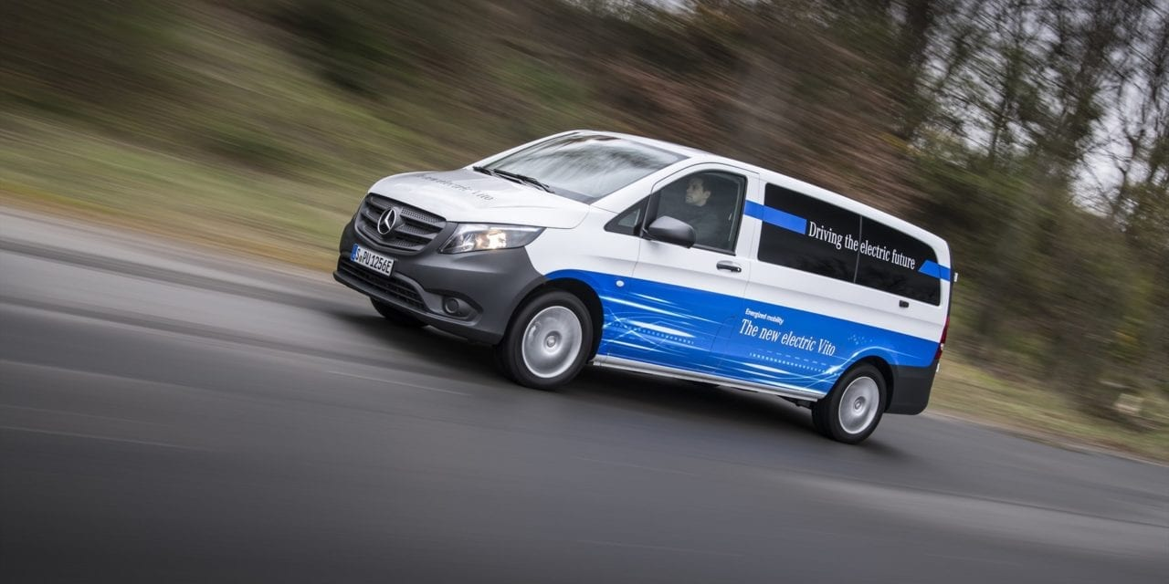 Mercedes Benz introduces electric drive in commercial fleets