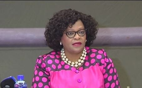 Nomvula Mokonyane, Minister of Water and Sanitation