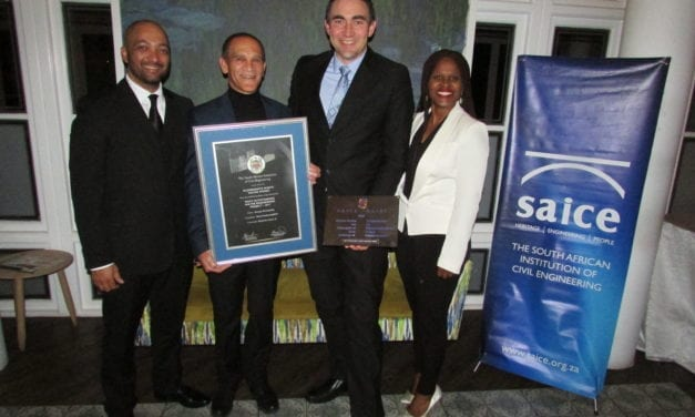 Royal HaskoningDHV honoured at SAICE Awards
