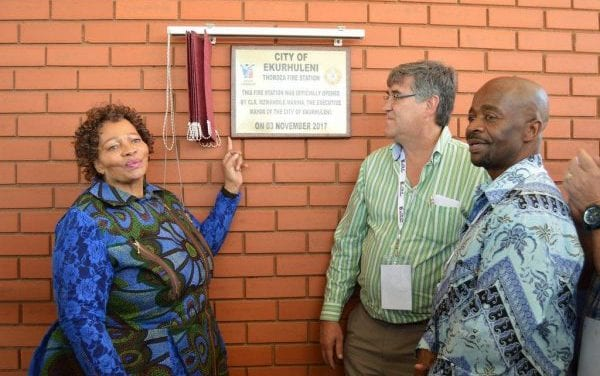 Thokoza fire station refurbished for R50 million