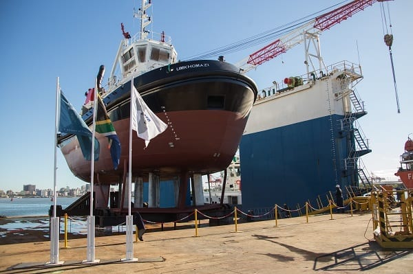Transnet launches another tug in R1.4bn project