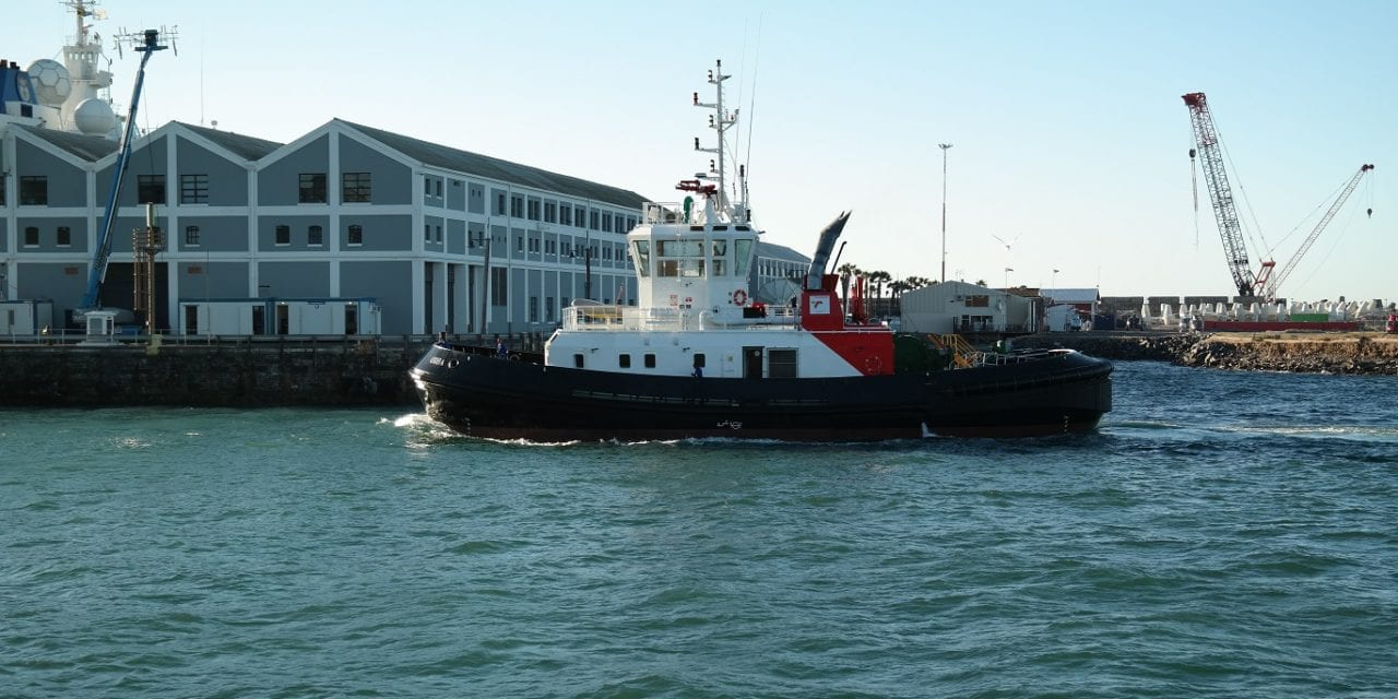 Port of Cape Town takes delivery of new tug