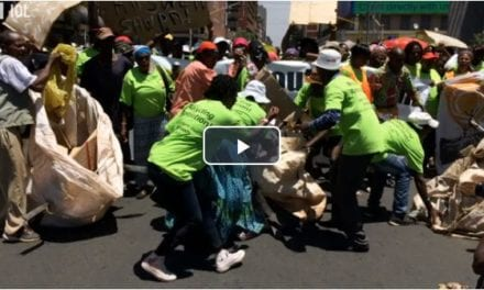 Waste pickers take to the streets in Tshwane