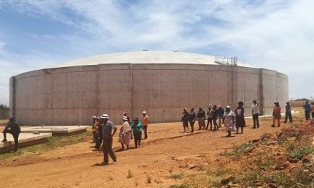 Multi-million rand reservoir brings stable supply to Orange Farm