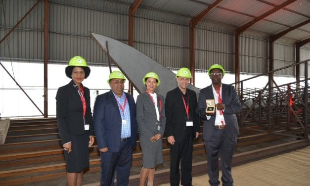 New plough tug a first for Transnet