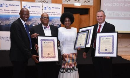 Transnet cleans up at Global Ports Forum Awards