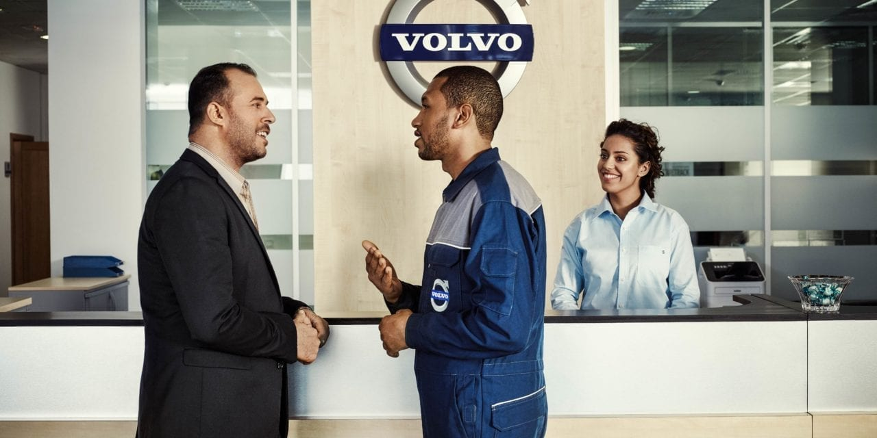 Volvo trucks retains top spot for sales, service and parts | Infrastructure news