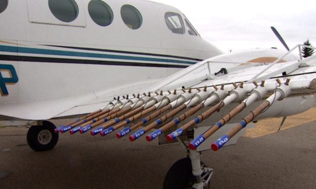 Using cloud seeding technology to maximise water availability