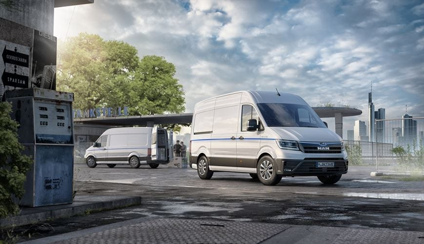MAN enters the electric market with new van