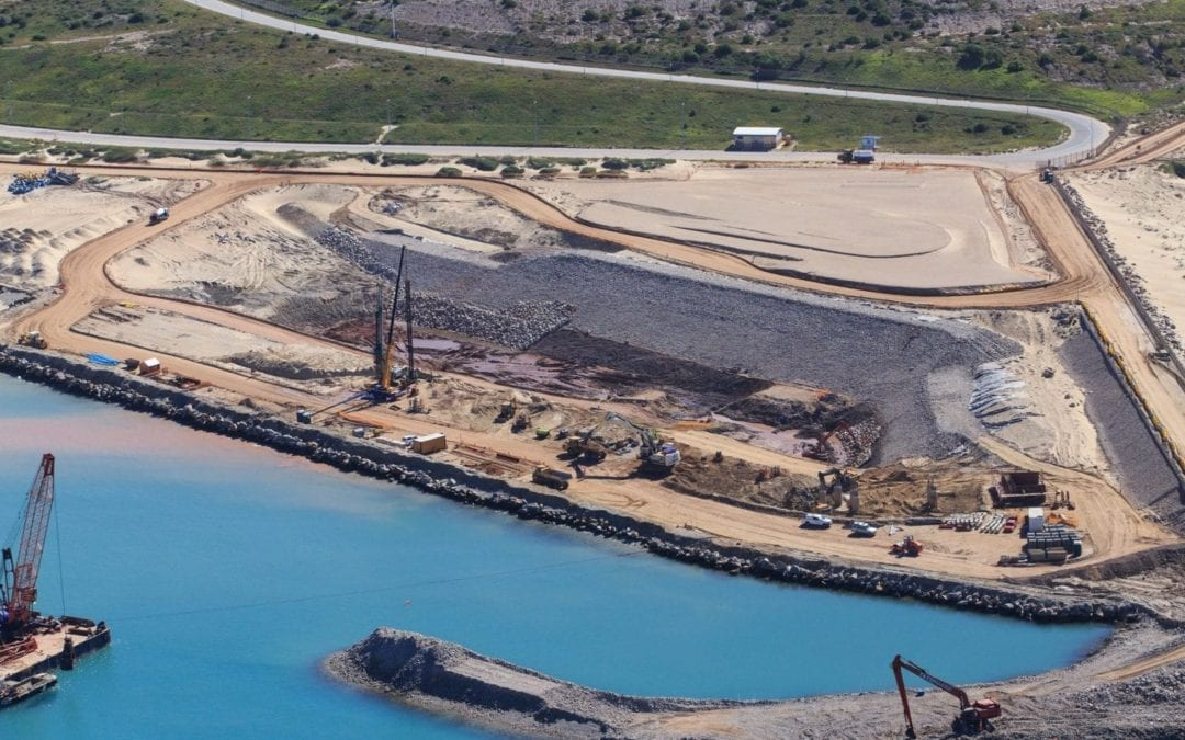 Another construction milestone at Port of Ngqura