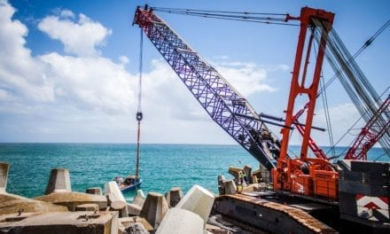 Cape breakwater project gets a much needed lift