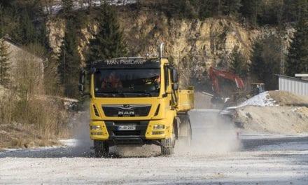 MAN expands tipper truck pilot training