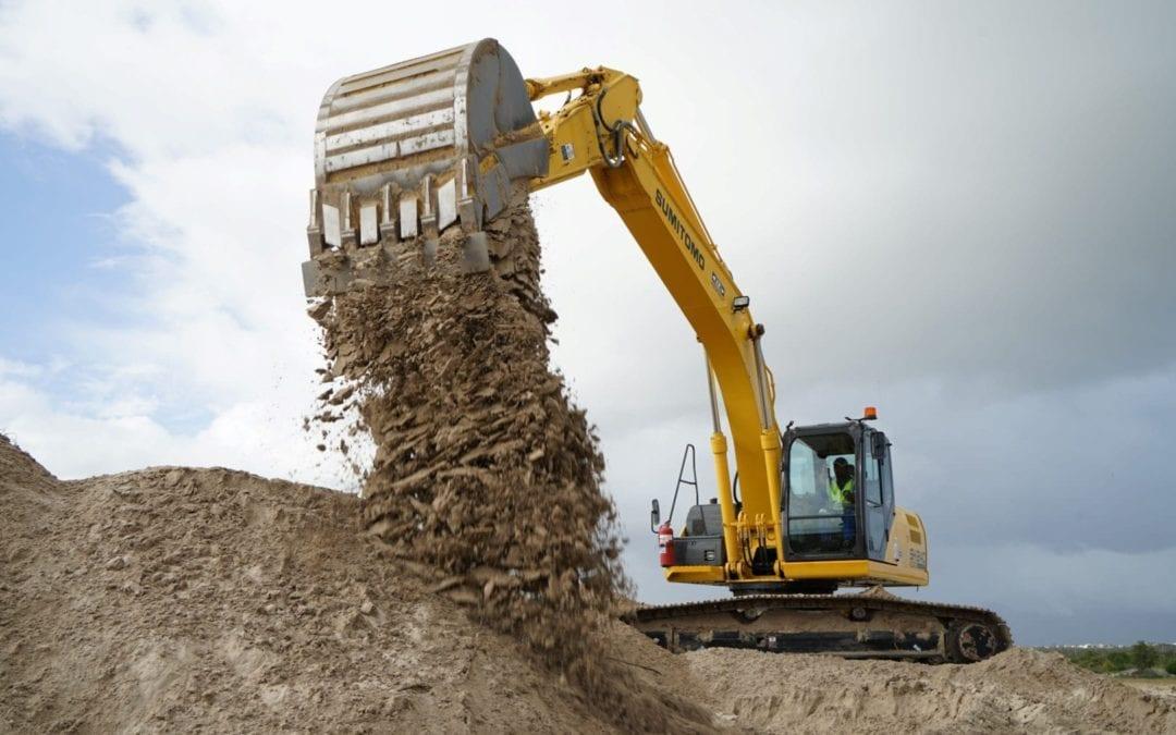 Excavators ready to boost economy