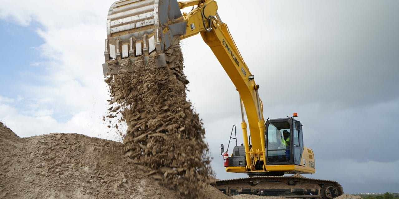Excavators ready to boost economy