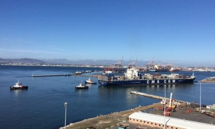 Container vessel successfully salvaged at Port of Cape Town