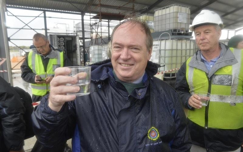 Cape enjoys first sip of desalinated water