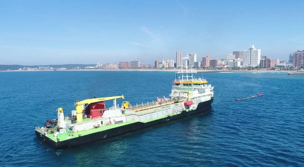 EThekwini's sand pumping operation a success