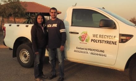 Polystyrene collectors help industry reach recycling success