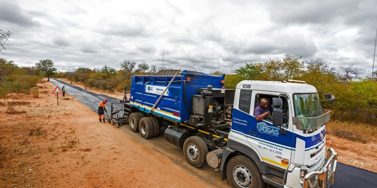 Ralumac gains momentum on SA roads