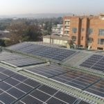 New solar plant cuts carbon footprint for Life Healthcare