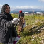 Landmark clean-up helps to rid Robben Island of waste