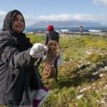 Landmark clean-up helps to rid Robben Island of waste