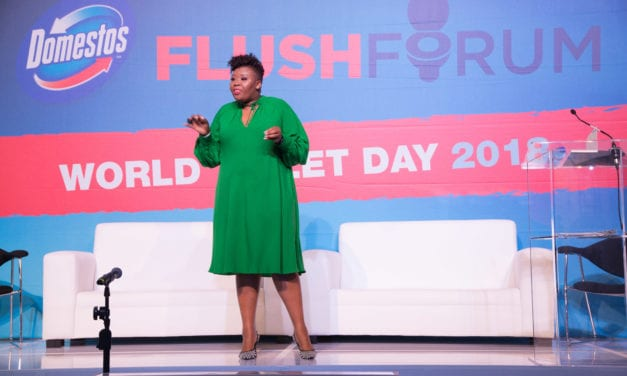 Anele Mdoda mobilises masses to make school sanitation a top priority