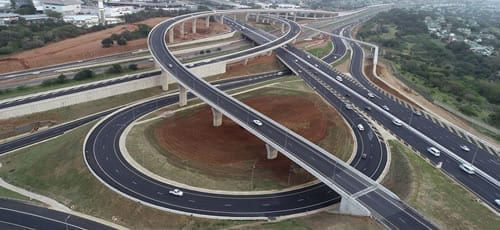 Mt Edgecombe Interchange: A civil engineering work of art