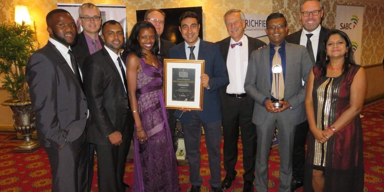 SMEC South Africa secures another win at the National Business Awards