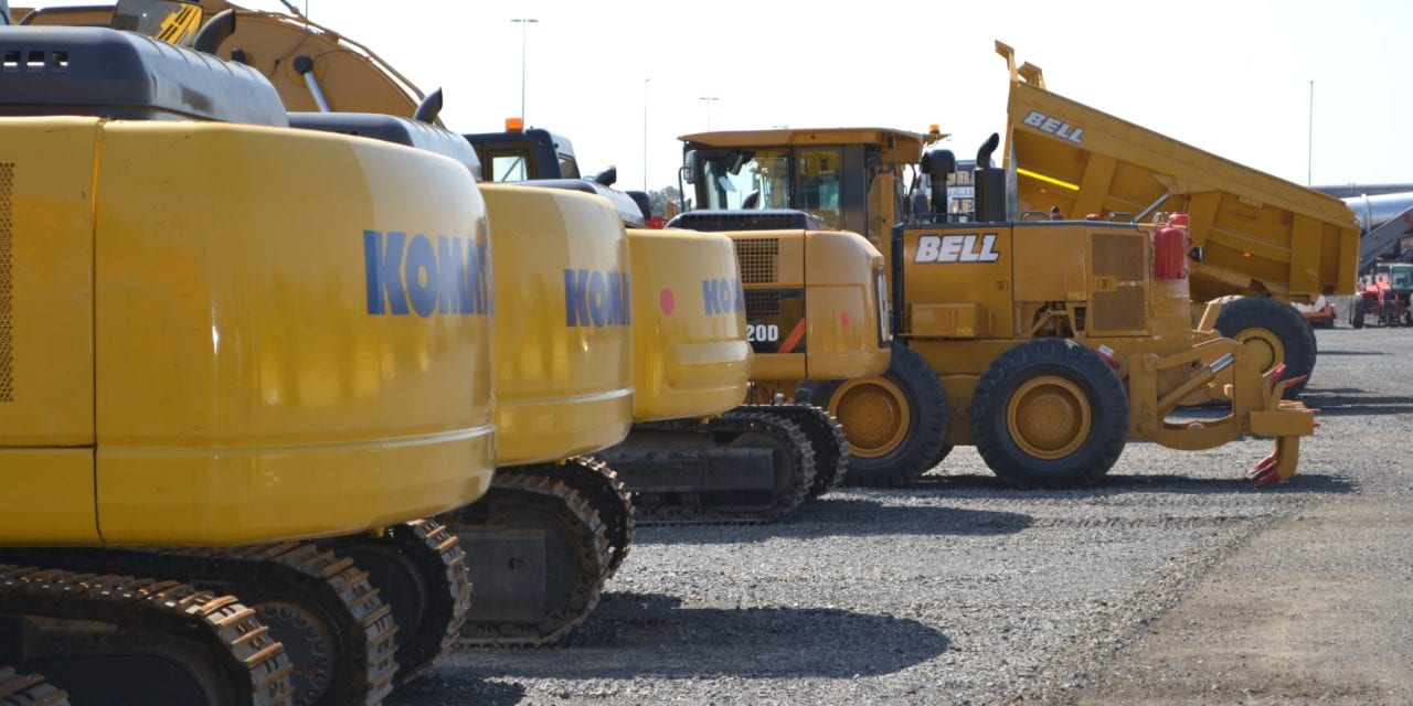 Equipment sales still stifled