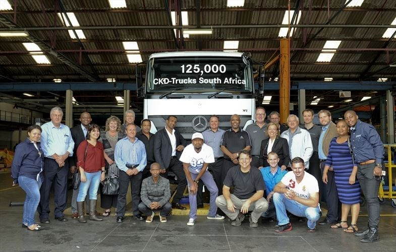 Milestone reached in local truck assembly