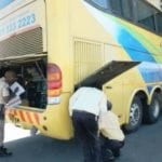 Large number of buses taken off the roads