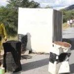 Chivake bridge damaged in Zimbabwe