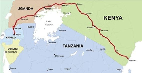 The Northern Corridor of East Africa